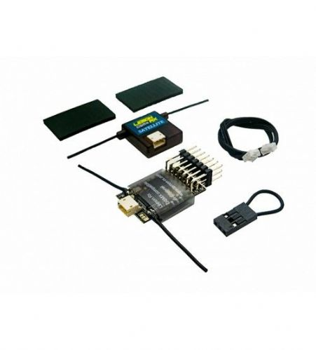 Lemon Rx DSMX Compatible 6-Channel Receiver + Lemon DSMX Compatible Satellite